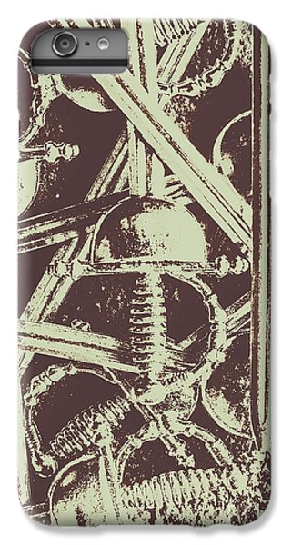 Warfare iPhone 7 Plus Case - Protecting The Iron Gate by Jorgo Photography - Wall Art Gallery