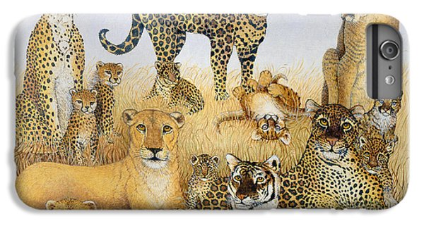 The Big Cats IPhone 7 Plus Case by Pat Scott