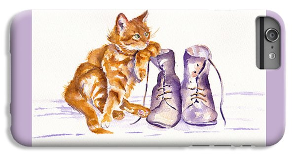 Cat iPhone 7 Plus Case - Puss 'n Boots by Debra Hall