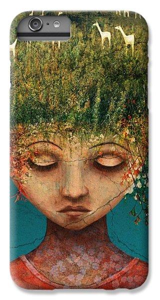 Surrealism iPhone 7 Plus Case - Quietly Wild by Catherine Swenson