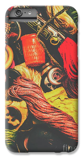 Craft iPhone 7 Plus Case - Quilting In Crochet by Jorgo Photography - Wall Art Gallery