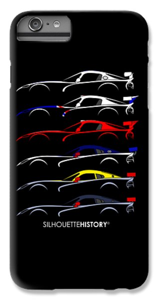 Racing Snake Silhouettehistory IPhone 7 Plus Case by Gabor Vida