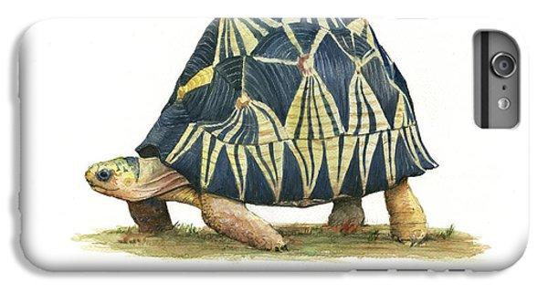 Turtle iPhone 7 Plus Case - Radiated Tortoise  by Juan Bosco