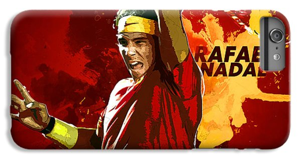 Rafael Nadal IPhone 7 Plus Case by Semih Yurdabak
