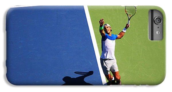 Rafeal Nadal Tennis Serve IPhone 7 Plus Case by Nishanth Gopinathan