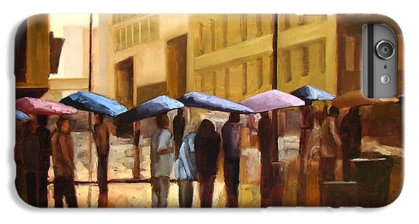 Rain In Manhattan Number Seventeen IPhone 7 Plus Case by Tate Hamilton