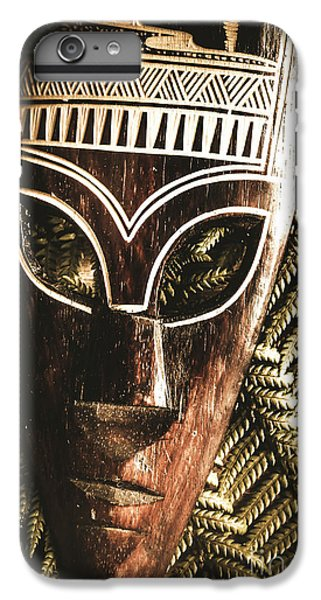8a2caf6cf Traditional African Masks iPhone 7 Plus Case - Rainforest Tribal Mask by  Jorgo Photography - Wall
