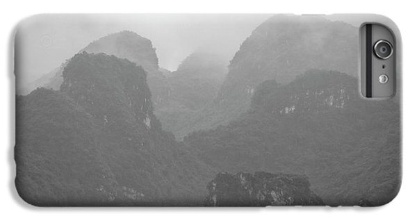 IPhone 7 Plus Case featuring the photograph Rainy Ha Long Bay, Ha Long, 2014 by Hitendra SINKAR
