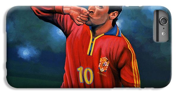 Cristiano Ronaldo iPhone 7 Plus Case - Raul Gonzalez Blanco by Paul Meijering