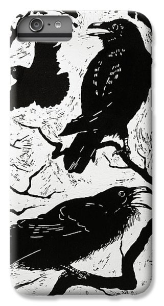 Ravens IPhone 7 Plus Case by Nat Morley