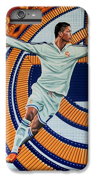 Athletes iPhone 7 Plus Case - Real Madrid Painting by Paul Meijering