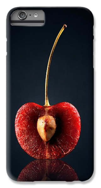 Orange iPhone 7 Plus Case - Red Cherry Still Life by Johan Swanepoel