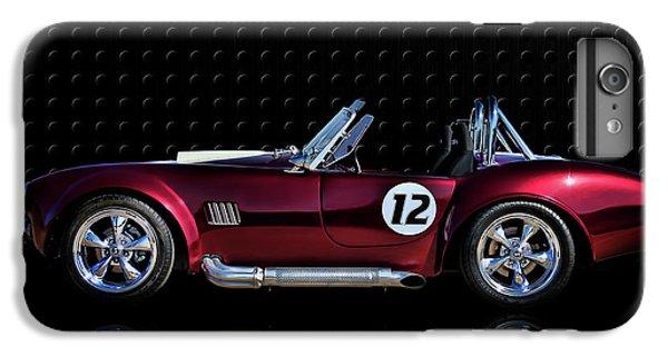 Red Cobra IPhone 7 Plus Case by Douglas Pittman