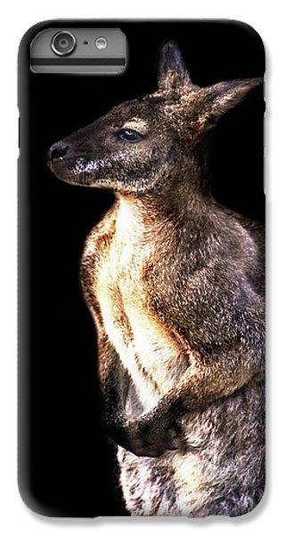 Kangaroo iPhone 7 Plus Case - Red Kangaroo by Martin Newman