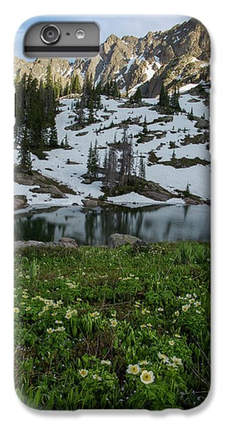 IPhone 7 Plus Case featuring the photograph Red Peak And Willow Lake by Aaron Spong
