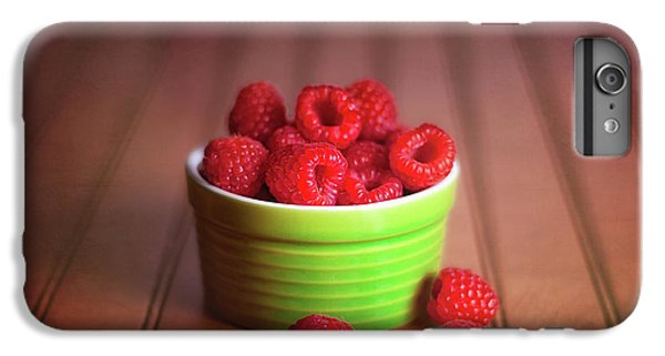 Red Raspberries Still Life IPhone 7 Plus Case by Tom Mc Nemar