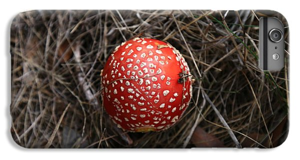 Red Spotty Toadstool IPhone 7 Plus Case by Nareeta Martin