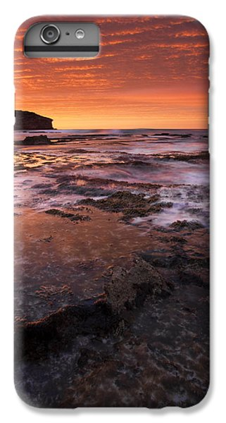 Kangaroo iPhone 7 Plus Case - Red Tides by Mike  Dawson