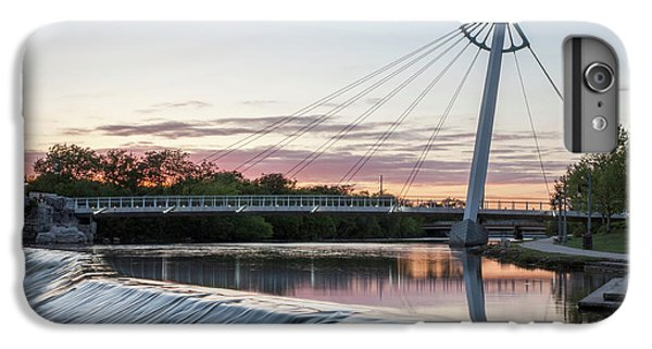 IPhone 7 Plus Case featuring the photograph Reflecting On Wichita by Kyle Findley