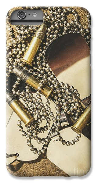 IPhone 7 Plus Case featuring the photograph Reflections Of Battle by Jorgo Photography - Wall Art Gallery