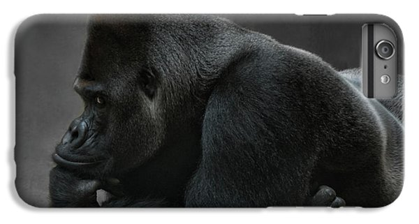 Gorilla iPhone 7 Plus Case - Relaxed Silverback by Joachim G Pinkawa