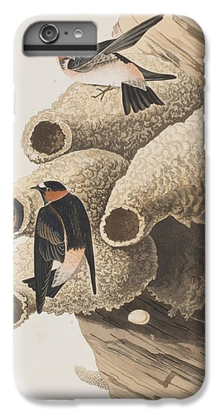 Swallow iPhone 7 Plus Case - Republican Or Cliff Swallow by John James Audubon