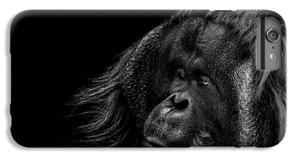 Orangutan iPhone 7 Plus Case - Respect by Paul Neville