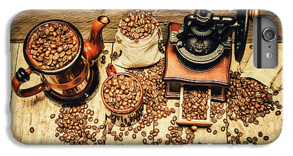 Retro Coffee Bean Mill IPhone 7 Plus Case by Jorgo Photography - Wall Art Gallery