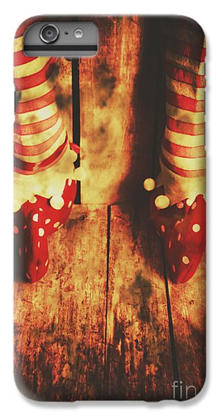 Elf iPhone 7 Plus Case - Retro Elf Toes by Jorgo Photography - Wall Art Gallery