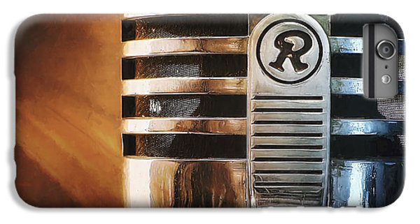 Jazz iPhone 7 Plus Case - Retro Microphone by Scott Norris