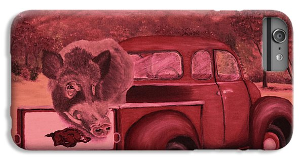 Ridin' With Razorbacks 3 IPhone 7 Plus Case