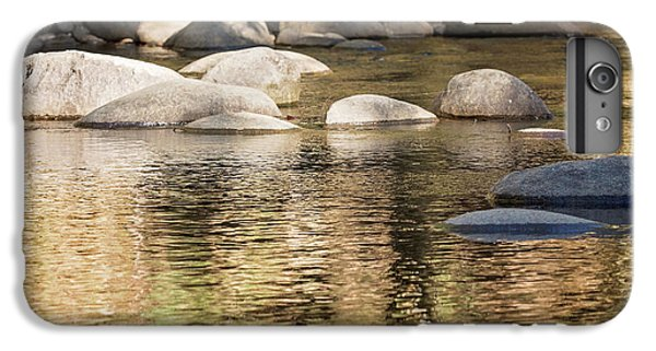 IPhone 7 Plus Case featuring the photograph Ripples And Rocks by Linda Lees