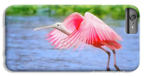 Rise Of The Spoonbill IPhone 7 Plus Case by Mark Andrew Thomas