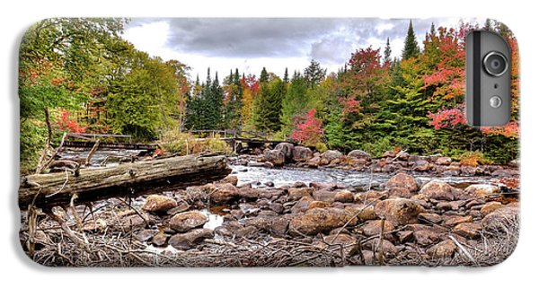 IPhone 7 Plus Case featuring the photograph River Debris At Indian Rapids by David Patterson