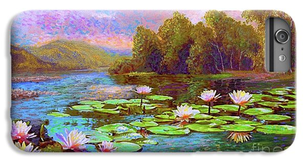 Lily iPhone 7 Plus Case - The Wonder Of Water Lilies by Jane Small