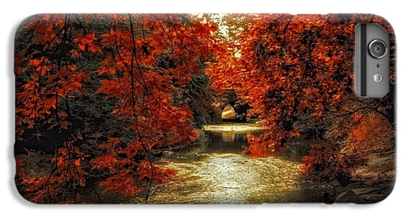 Riverbank Red IPhone 7 Plus Case by Jessica Jenney