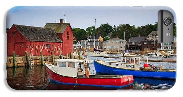 Otter iPhone 7 Plus Case - Rockport Harbor 2 by Emmanuel Panagiotakis