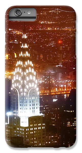Chrysler Building iPhone 7 Plus Case - Romantic Manhattan by Az Jackson