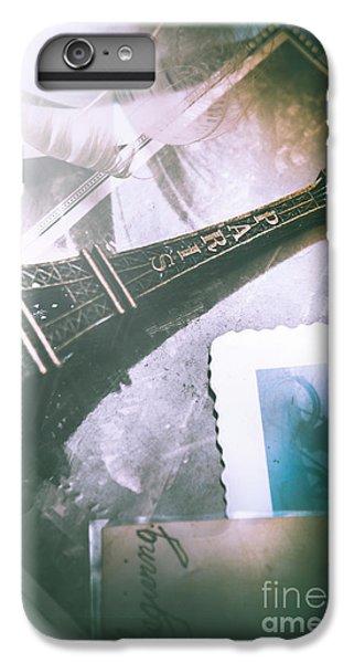Eiffel Tower iPhone 7 Plus Case - Romantic Paris Memory by Jorgo Photography - Wall Art Gallery