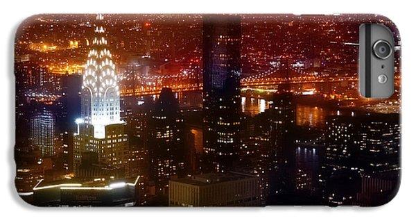Chrysler Building iPhone 7 Plus Case - Romantic Skyline by Az Jackson