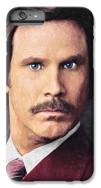 Elf iPhone 7 Plus Case - Ron Burgundy by Taylan Apukovska