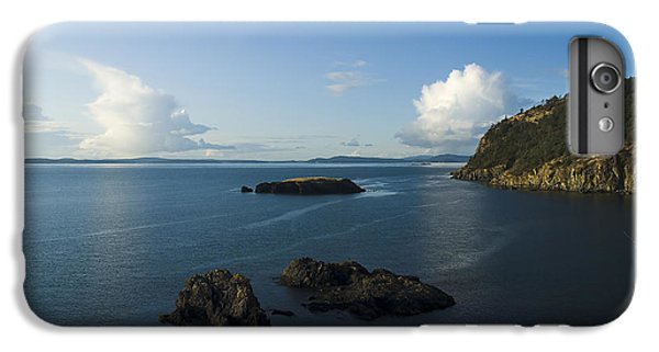 IPhone 7 Plus Case featuring the photograph Rosario Strait Near Anacortes by Yulia Kazansky