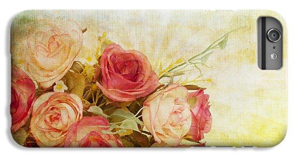 Roses Pattern Retro Design IPhone 7 Plus Case