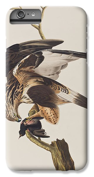 Rough Legged Falcon IPhone 7 Plus Case by John James Audubon