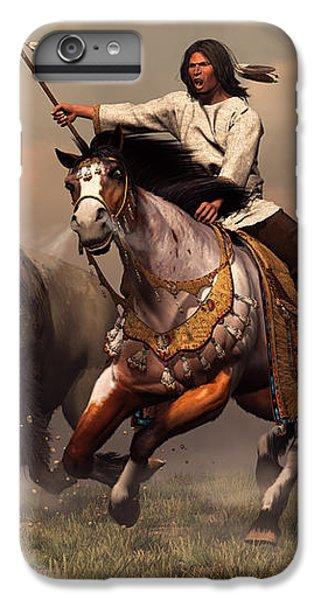 Eagle iPhone 7 Plus Case - Running With Buffalo by Daniel Eskridge