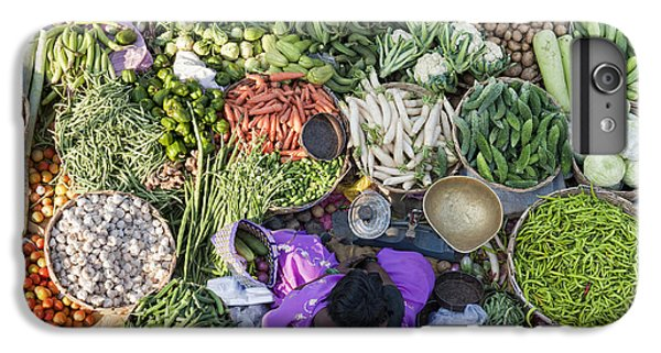 Rural Indian Vegetable Market IPhone 7 Plus Case