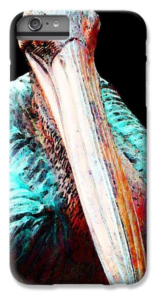 Rusty - Pelican Art Painting By Sharon Cummings IPhone 7 Plus Case by Sharon Cummings