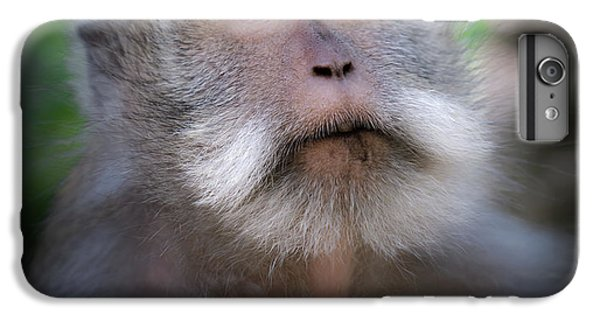 Helicopter iPhone 7 Plus Case - Sacred Monkey Forest Sanctuary by Larry Marshall