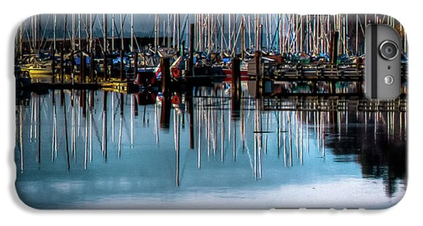 Sailboats At Sunset IPhone 7 Plus Case by David Patterson