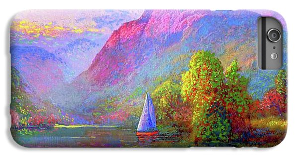 Boats iPhone 7 Plus Case -  Sailing by Jane Small